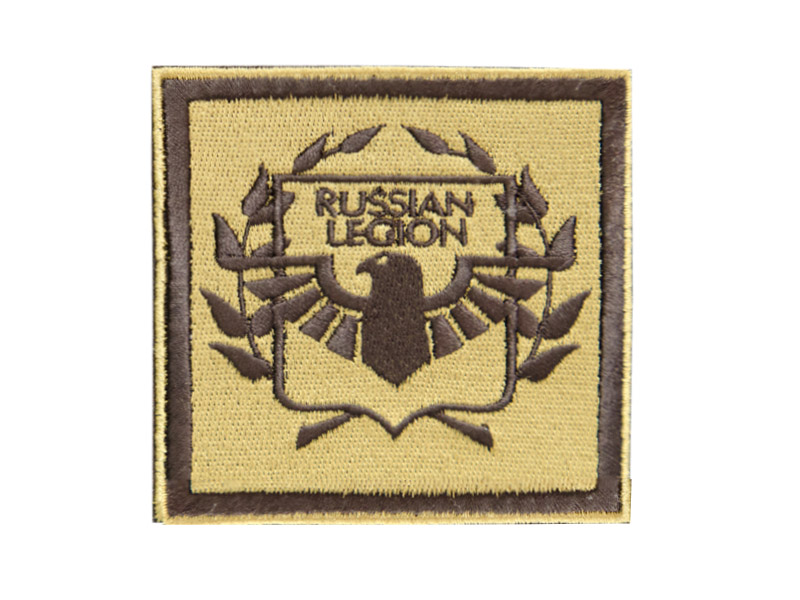 Шеврон RUSSIAN LEGION new