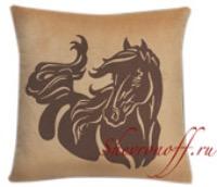 Подушки с вышивкой лошади Арт.005